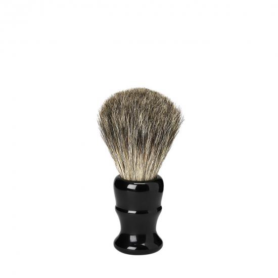 Shaving Brush Vintage - Resin Badger Venitian Black