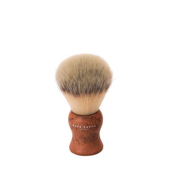 Shaving Brush - Natural Style Synthetic Fibres Brown
