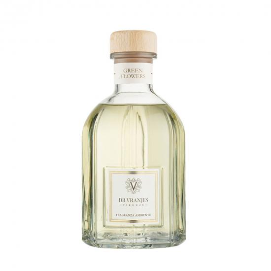Green Flowers - Glass Bottle (1250 ml)