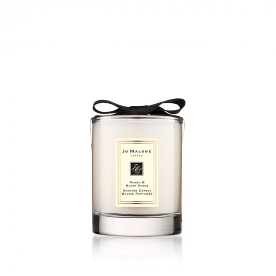 Gift - Peony & Blush Suede Mini Candle