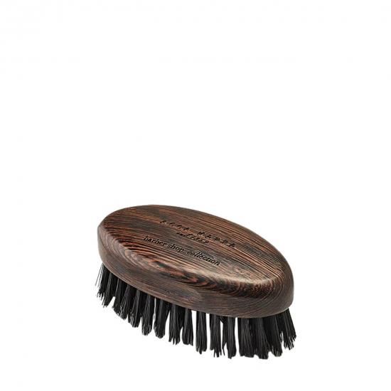 Beard Brush Wenge Wood with Natural Black Bristles