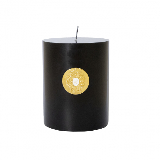 Halley  Black Glass Candle (500 gr)