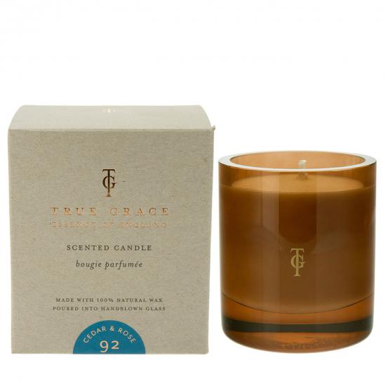 Burlington Candle - Cedar & Rose (290 g)