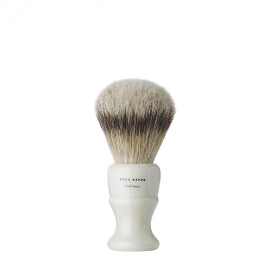 Shaving Brush Resin Ivory Pure Badger Large