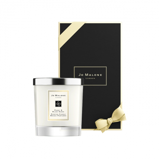 Peony & Blush Suede Candle (200 gr)