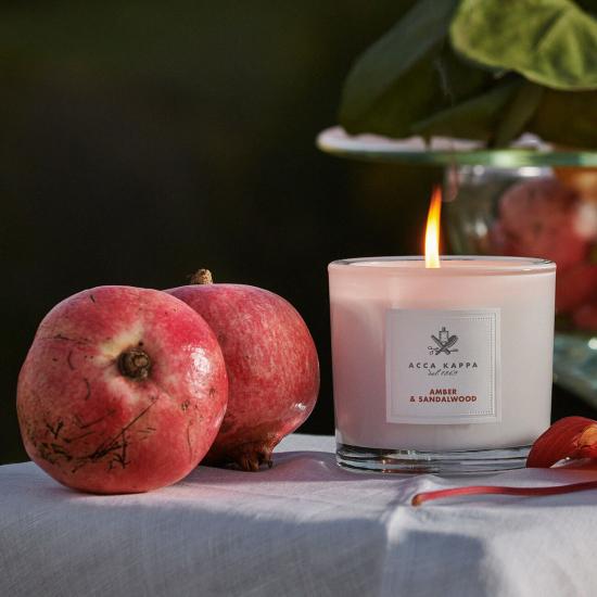 Amber & Sandalwood Candle (180 g)