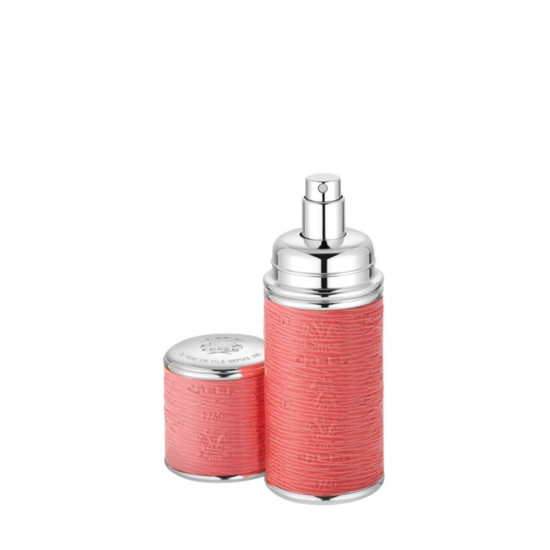 Pink with Silver Trim Deluxe Atomiser (50 ml)