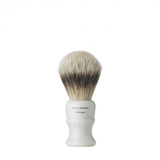 Shaving Brush Resin Ivory Pure Badger Medium