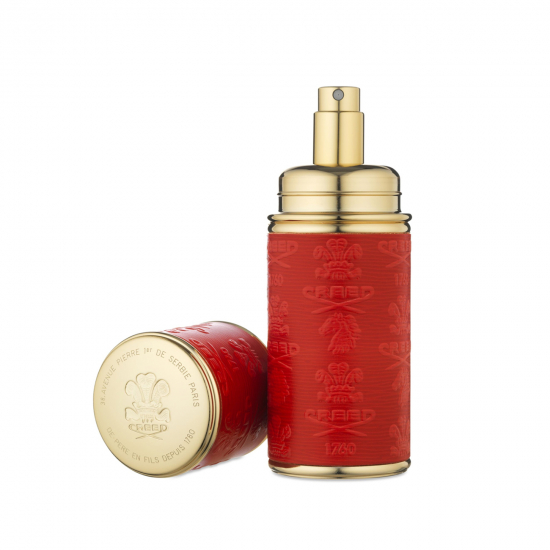 Gold Red Leather Atomiser (50 ml)
