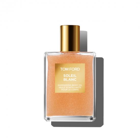 Soleil Blanc Shimmer Rose Gold Body Oil (100 ml)