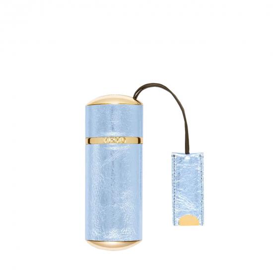 Leather Travel Case Sky Metallic (10 ml)
