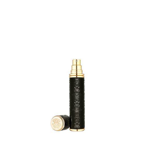 Gold Black Leather Atomiser (10 ml)