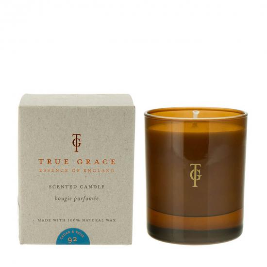 Burlington Candle - Cedar & Rose (145 g)