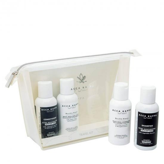 White Moss Travel Set (4 x 100 ml)