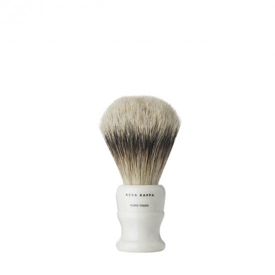 Shaving Brush Resin Ivory Pure Badger Small