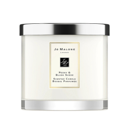 Peony & Blush Suede Deluxe Candle (600 gr)