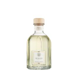 Green Flowers - Glass Bottle (500 ml)